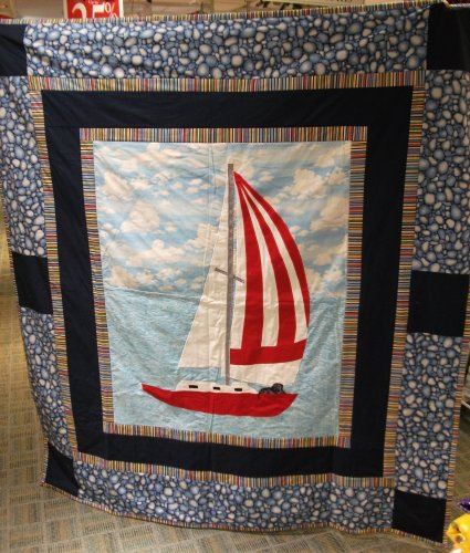 Keith and Karen's quilt